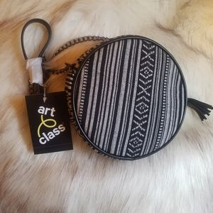 Black and White Crossbody